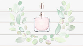 Toilet water perfume bottle vector illustration Toilet water perfume bottle vector illustration Royalty Free Stock Photo