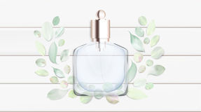 Toilet water perfume bottle vector illustration Toilet water perfume bottle vector illustration Royalty Free Stock Photos
