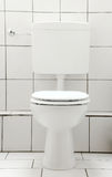 Toilet white Royalty Free Stock Photo