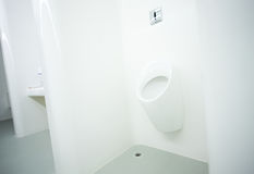 Toilet in yacht. A view of toilet in a luxury yacht Stock Image