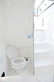 Toilet in yacht Royalty Free Stock Images