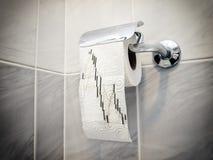 Toiletanalyse stock foto's
