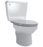 Toiletkom Royalty-vrije Stock Afbeelding