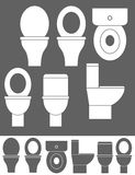 Toiletkom Stock Afbeelding