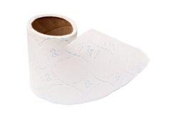 Toiletpapier Royalty-vrije Stock Afbeeldingen