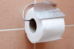 Toiletpapier Royalty-vrije Stock Foto