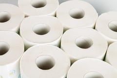 Toiletpapier Royalty-vrije Stock Foto's