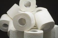 Toiletpapier Royalty-vrije Stock Fotografie