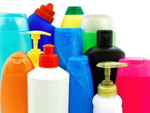Toiletries bottles Stock Photography