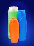 Toiletries bottles Royalty Free Stock Image