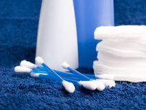 Toiletries and cosmetics Stock Photo