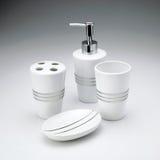 Toiletries Kit Set Stock Photo