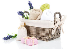 Toiletries for relaxation Royalty Free Stock Photos