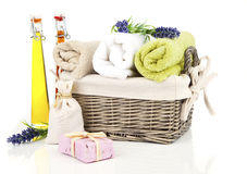 Toiletries for relaxation, Stock Images