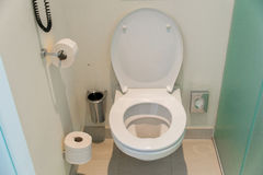 Toiletruimte Royalty-vrije Stock Afbeelding