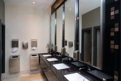 Toiletruimte in een openbare ruimte royalty-vrije stock fotografie