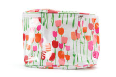 Toiletry Bag. On White Background Stock Images
