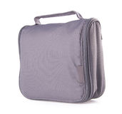 Toiletry bag on a background. Toiletry bag on the background Royalty Free Stock Image