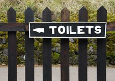 Toilets Royalty Free Stock Photos