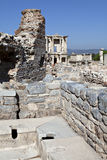 Toilets in Ephesus Stock Photos