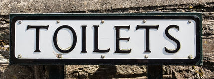 Toilets Royalty Free Stock Photography
