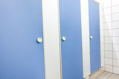 Toilets and skin Stock Photo