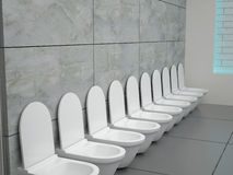 Toilette Stock Photography
