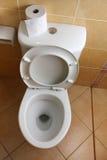 Toilette photographie stock