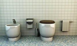 Toilette Imagenes de archivo