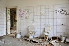 Toilette Fotografie Stock