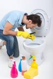 Toilette Fotografie Stock Libere da Diritti