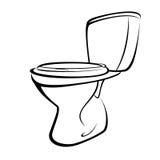 Toilette stock vecteurs et illustrations