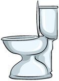 Toilette illustration de vecteur