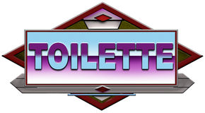 Toilette Royalty Free Stock Photography