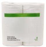 toilette blanc de papier de module d'étiquette Photos stock