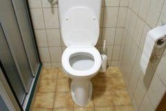 Toilette dans l'hôtel Photo libre de droits