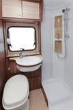 Toilette de campeur photos libres de droits