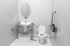 Toilette de débronchement Photos libres de droits