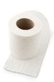 toilette de papier de roulis Images stock