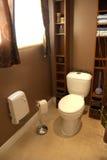 Toilette de salle de bains Photo libre de droits
