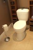 Toilette de salle de bains Photographie stock