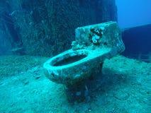 Toilette dell'acqua Fotografie Stock Libere da Diritti