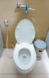 Toilette della donna in ospedale fotografie stock libere da diritti