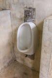 Toilette in der Toilette, men& x27; s-Badezimmer Stockfotografie