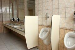 Toilette des hommes s Photos stock