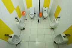 Toilette des Kindergartens Stockfoto