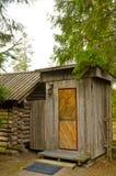Toilette di legno Fotografie Stock Libere da Diritti