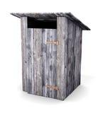 Toilette di legno Immagine Stock Libera da Diritti