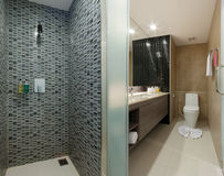 Toilette e bagno Fotografie Stock