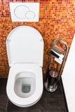 Toilette e carta Fotografie Stock